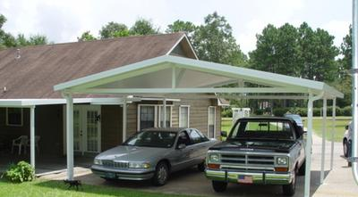 carports feel one with the outdoors