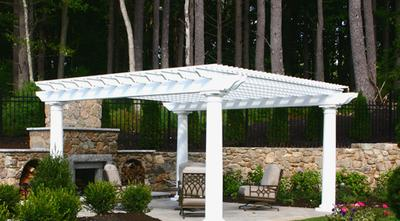 pergolas custom built